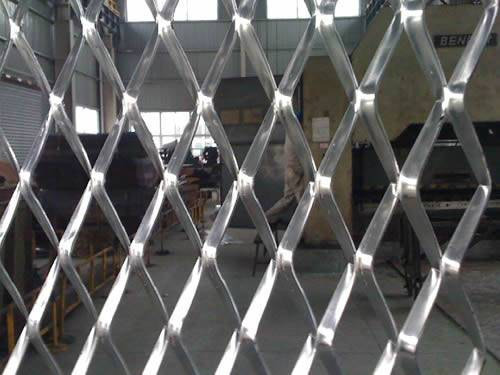 Expanded Metal Fencing For Utility Airport Playground