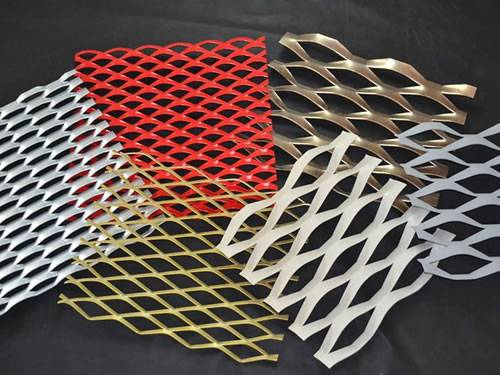 Expanded Metal Sheet For Building Facade Fencing And Gates
