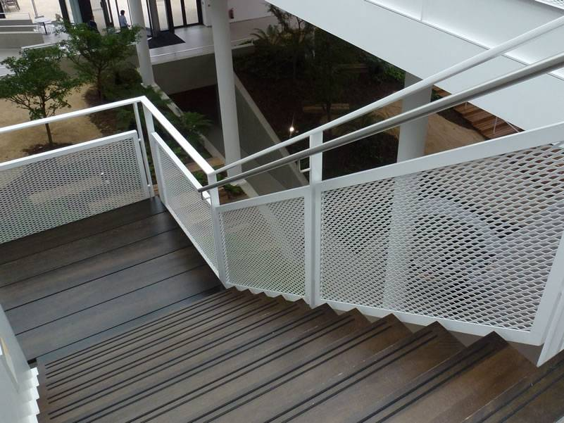 Decorative Expanded Metal Mesh For Facade Interior Wall