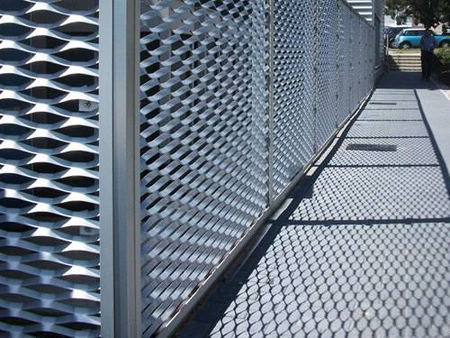Expanded Metal Infill Panel for Fence, Stair and Walkway Railing